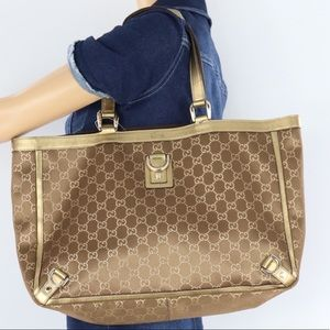 🌺STUNNING🌺 Gold Gucci tote bag
